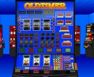 Oldtimer-Fruitautomaat